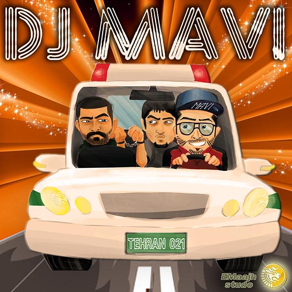 Hichkas & Reza Pishro - Bazam Kalan (DJ Mavi Club Mix)