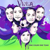 Viola-Band-One-Color-One-Team