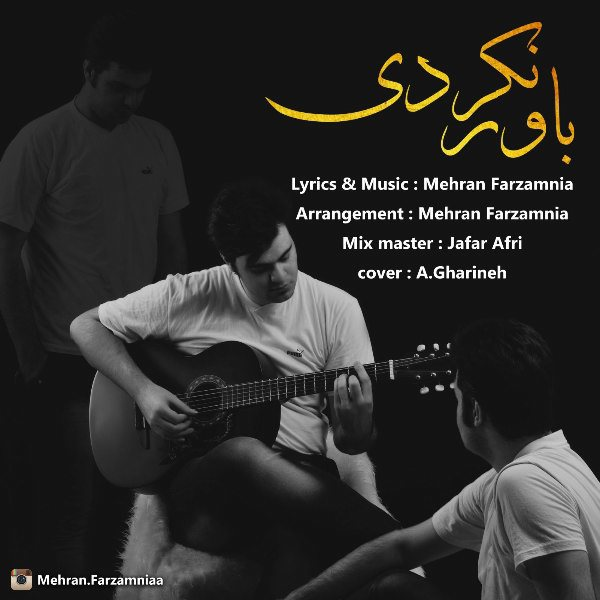 Mehran Farzamnia - Bavar Nakardi