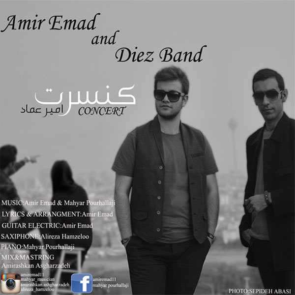 Amir Emad - Concert (Ft Diez Band)
