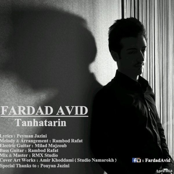 Fardad Avid - Tanhatarin
