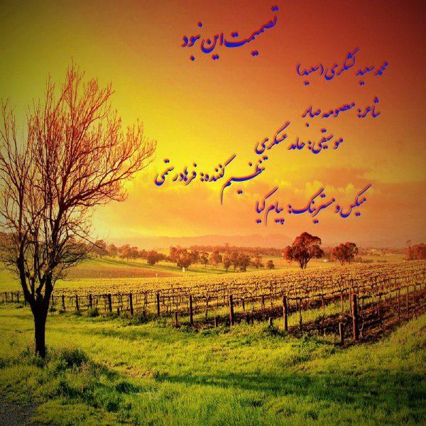 Mohammad Saeed Lashkari - Tasmimet In Nabood