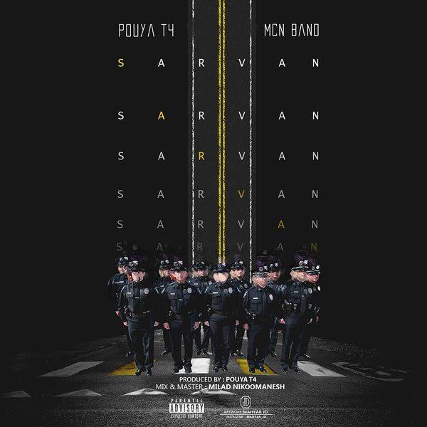 Pouya T4 - Sarvan (Ft MCN Band)