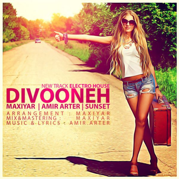 Amir Arter - Divooneh (Ft Maxiyar & Ali Sunset)