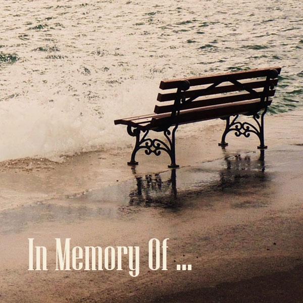 In Memory Of  …