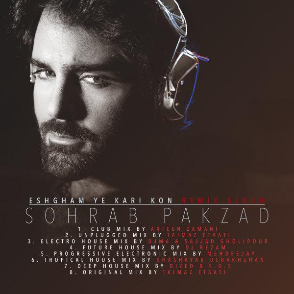 Sohrab Pakzad - Eshgham Ye Kari Kon (Dized & S.O.S Deep House Mix)