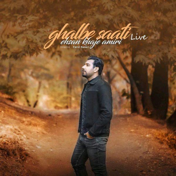 Ehsan Khaje Amiri - Ghalbe Saati (Live)